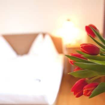 Kleines Gutshäusl im Hoteldorf, Blumen