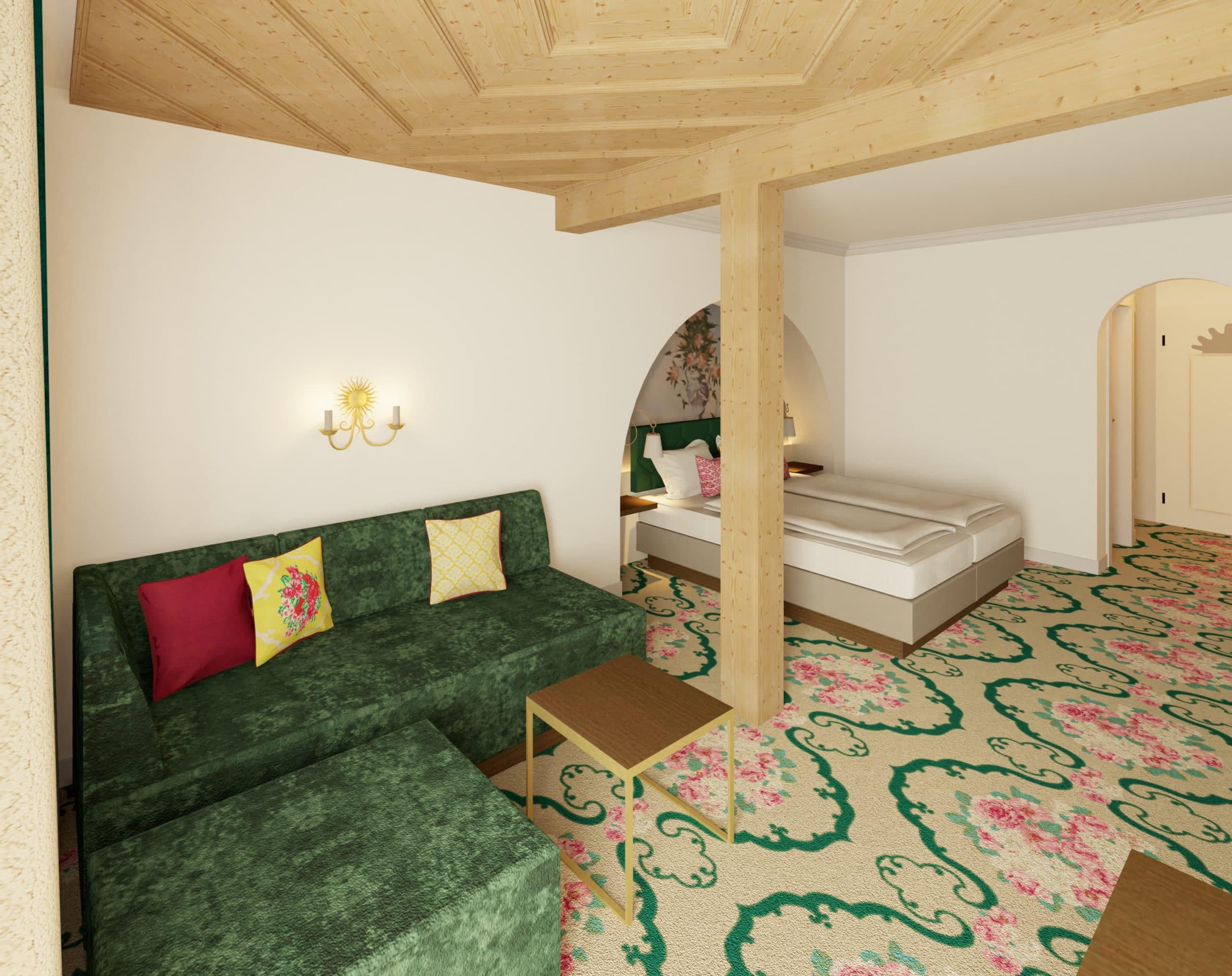 Haus Rotwild, neue Zimmer & Suiten, Hoteldorf Pichlmayrgut