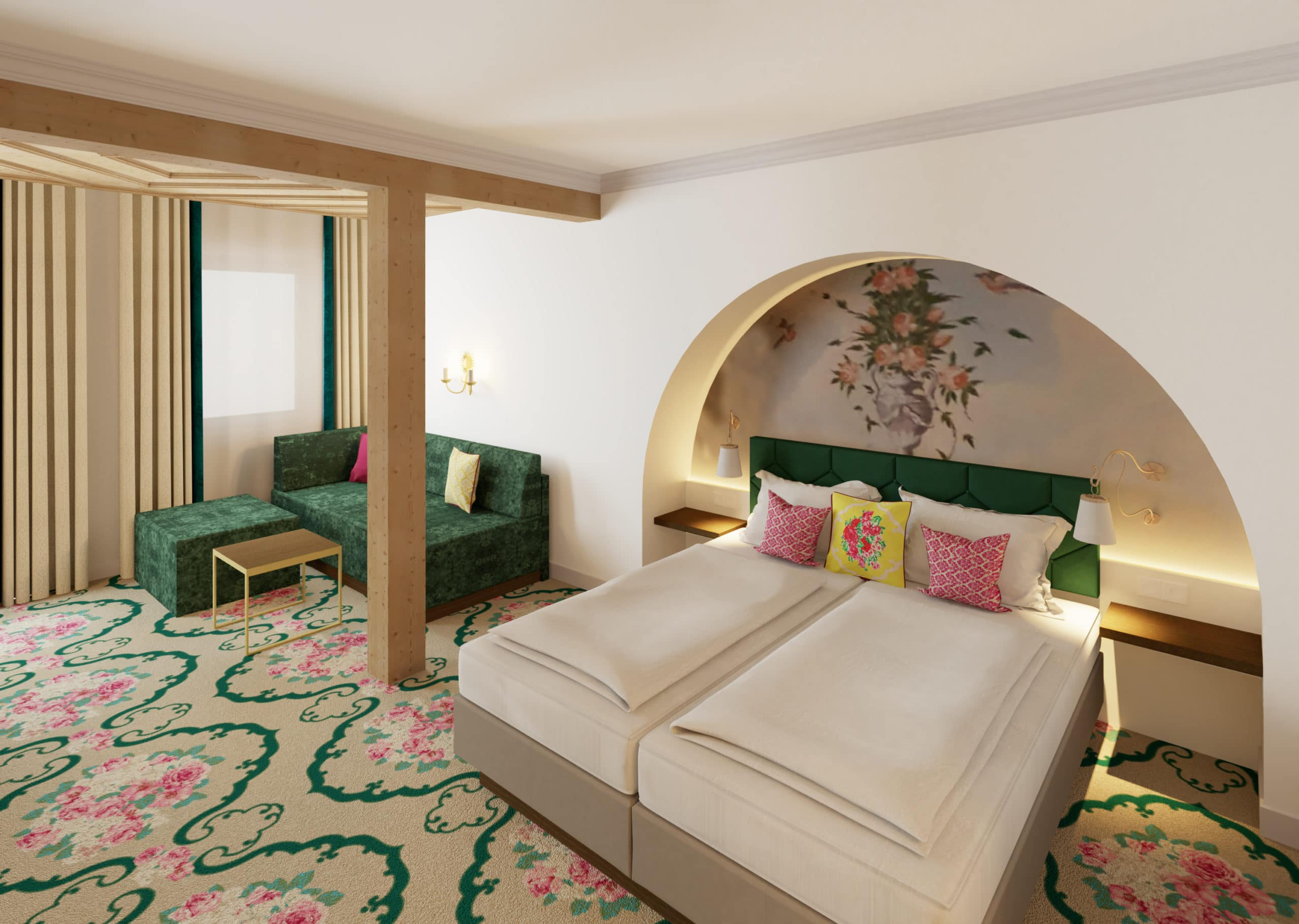 Haus Rotwild, neue Zimmer & Suiten