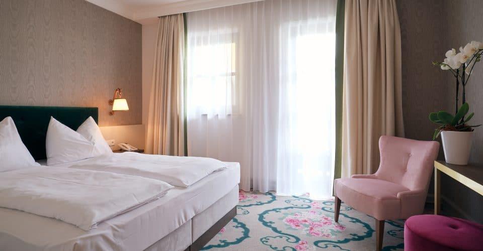 Schlafzimmer Haus Rotilwd, Hotel Pichlmayrgut